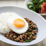 003_ガパオと鶏挽肉の炒めご飯