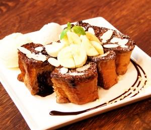 濃厚ショコラフレンチトースト