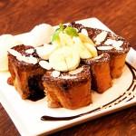 濃厚ショコラフレンチトースト小