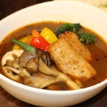 愛別産舞茸と鶏つくねのスープカリー2020年1月小